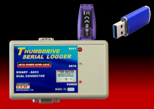 Four-Channel Data Logger with USB and RS
